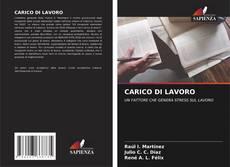 Bookcover of CARICO DI LAVORO; UN FATTORE CHE GENERA STRESS SUL LAVORO