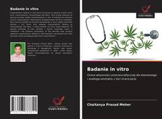 Couverture de Badanie in vitro