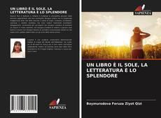 Portada del libro de UN LIBRO È IL SOLE, LA LETTERATURA È LO SPLENDORE