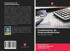 Capa do livro de Fundamentos do Empreendedorismo