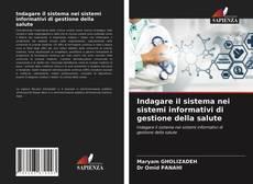 Copertina di Indagare il sistema nei sistemi informativi di gestione della salute