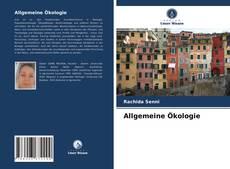Bookcover of Allgemeine Ökologie