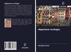Bookcover of Algemene ecologie
