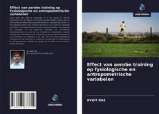 Portada del libro de Effect van aerobe training op fysiologische en antropometrische variabelen