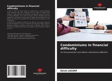 Bookcover of Condominiums in financial difficulty