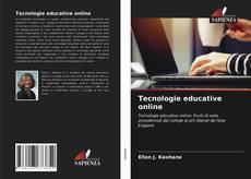 Bookcover of Tecnologie educative online