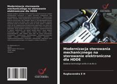 Bookcover of Modernizacja sterowania mechanicznego na sterowanie elektroniczne dla HDDE