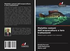 Copertina di Malattie comuni dell'acquacoltura e loro trattamenti