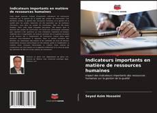 Bookcover of Indicateurs importants en matière de ressources humaines
