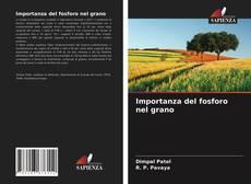 Copertina di Importanza del fosforo nel grano