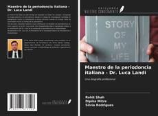 Обложка Maestro de la periodoncia italiana - Dr. Luca Landi
