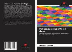 Bookcover of Indigenous students on stage
