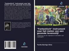 """Bookcover of """"Fantastisch"""" instrument voor het meten van een gezonde levensstijl"""