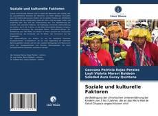 Buchcover von Soziale und kulturelle Faktoren