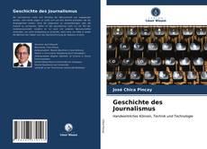 Bookcover of Geschichte des Journalismus