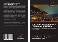 EDUKACJA RELIGIJNA JAKO POLITYKA PUBLICZNA kitap kapağı