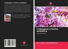Linguagem e forma semiótica的封面