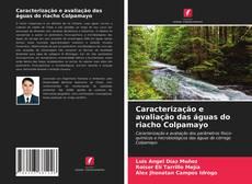 Capa do livro de Caracterização e avaliação das águas do riacho Colpamayo