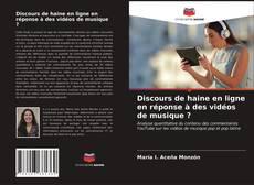 Buchcover von Discours de haine en ligne en réponse à des vidéos de musique ?