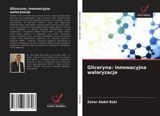 Buchcover von Gliceryna: innowacyjna waloryzacja