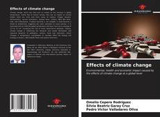 Bookcover of Effects of climate change