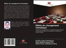 Capa do livro de Effets du changement climatique