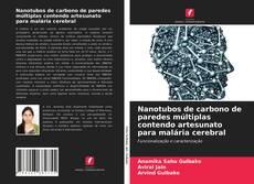 Capa do livro de Nanotubos de carbono de paredes múltiplas contendo artesunato para malária cerebral