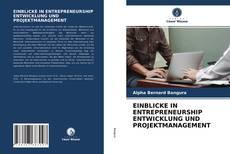 Обложка EINBLICKE IN ENTREPRENEURSHIP ENTWICKLUNG UND PROJEKTMANAGEMENT