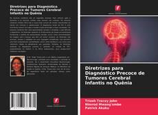 Capa do livro de Diretrizes para Diagnóstico Precoce de Tumores Cerebral Infantis no Quênia