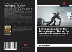 Bookcover of Self-management in the technosphere - the key to sustainable development