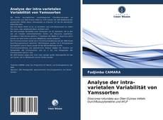 Analyse der intra-varietalen Variabilität von Yamssorten kitap kapağı