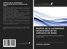 Análisis de la variabilidad intravarietal de los cultivares de ñame kitap kapağı