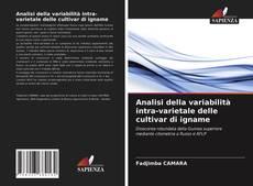 Analisi della variabilità intra-varietale delle cultivar di igname kitap kapağı