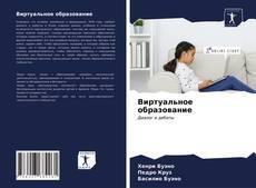 Capa do livro de Виртуальное образование