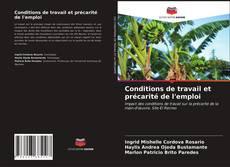Bookcover of Conditions de travail et précarité de l'emploi