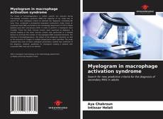 Bookcover of Myelogram in macrophage activation syndrome