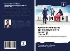 Bookcover of Критический обзор организационного развития (Часть 1)