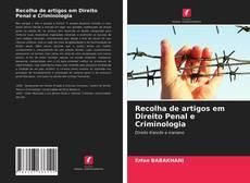 Recolha de artigos em Direito Penal e Criminologia kitap kapağı