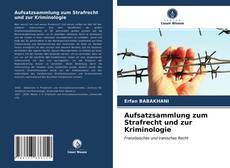 Borítókép a  Aufsatzsammlung zum Strafrecht und zur Kriminologie - hoz