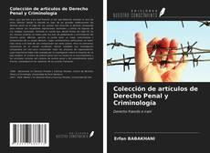 Portada del libro de Colección de artículos de Derecho Penal y Criminología