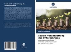 Capa do livro de Soziale Verantwortung des Unternehmens