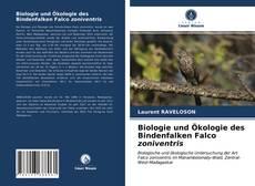 Bookcover of Biologie und Ökologie des Bindenfalken Falco zoniventris