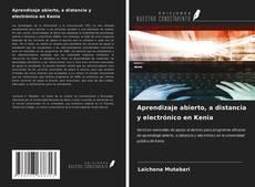 Bookcover of Aprendizaje abierto, a distancia y electrónico en Kenia