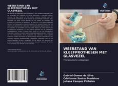 Bookcover of WEERSTAND VAN KLEEFPROTHESEN MET GLASVEZEL