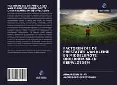 Bookcover of FACTOREN DIE DE PRESTATIES VAN KLEINE EN MIDDELGROTE ONDERNEMINGEN BEÏNVLOEDEN