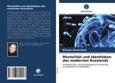 Capa do livro de Mentalität und Identitäten des modernen Russlands