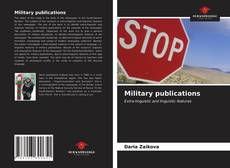 Bookcover of Military publications