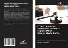 Capa do livro de COVID19 e diritto amministrativo nella regione MENA Caso di studio Egitto
