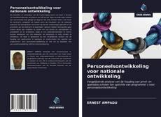Bookcover of Personeelsontwikkeling voor nationale ontwikkeling