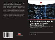 Une étude exploratoire du concept de moments d'enseignement的封面